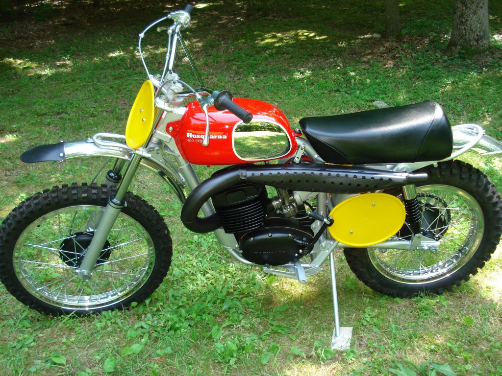 1970 Husqvarna 400 Cross Original Owner Malcolm Smith