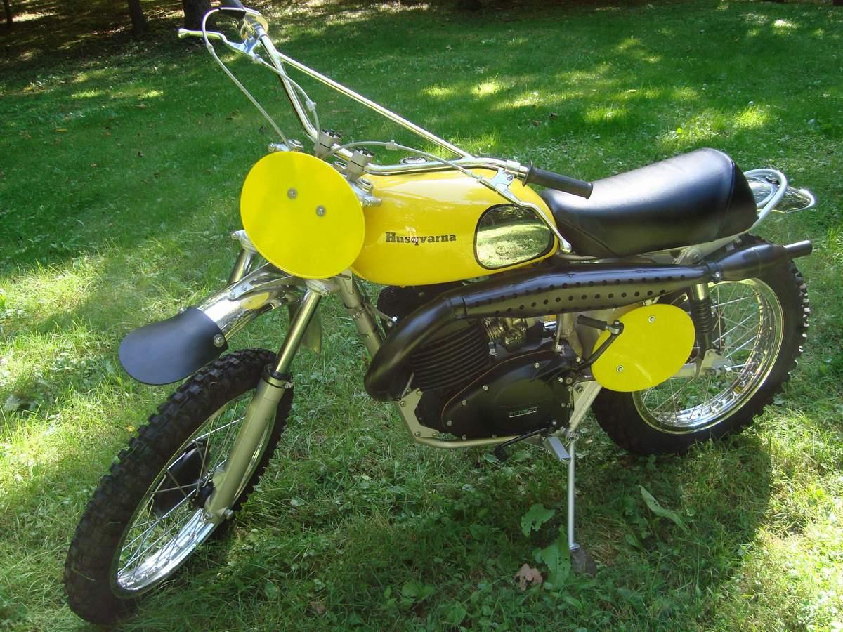 1973 Husqvarna 450 desert Master