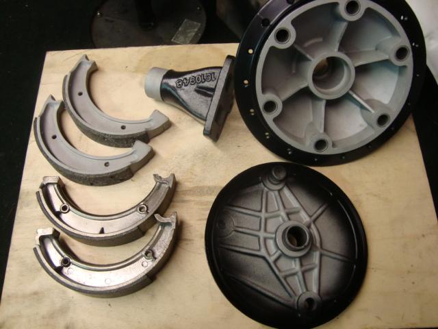 Rear Hub, Plate