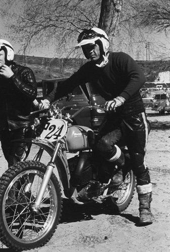 Steve McQueen 1970 Husqvarna 400 Cross