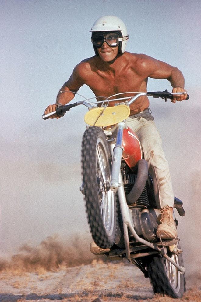 Steve McQueen Sport Illustrated cover 1971