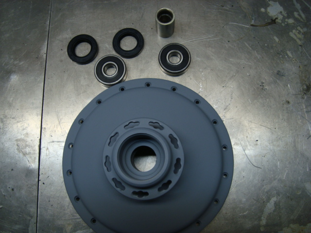Rear hub