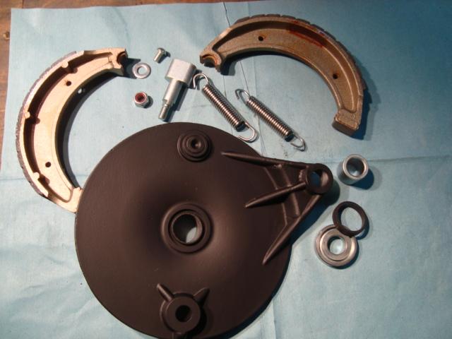 Rear Brake Plate
