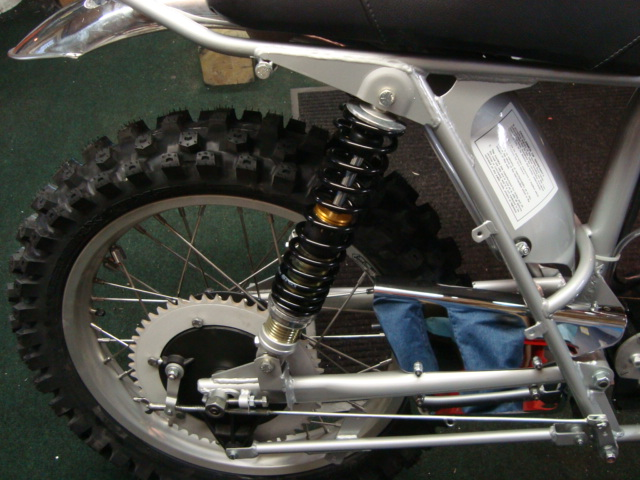 Ohlins Shock Sun Rim