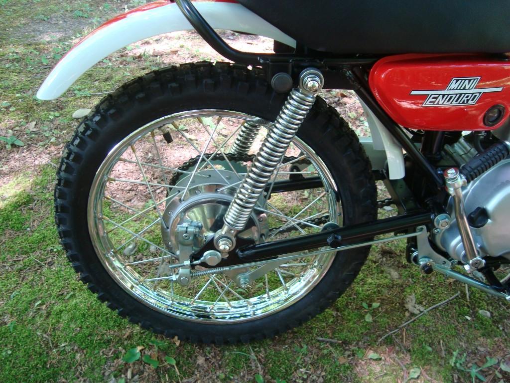 Yamaha JT1 rear