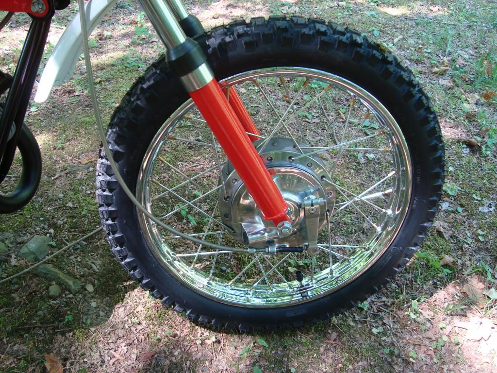 Yamaha JT1 front wheel