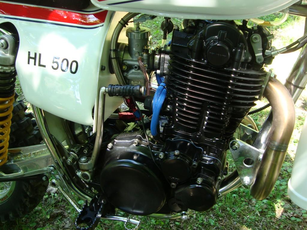 TT500 Engine