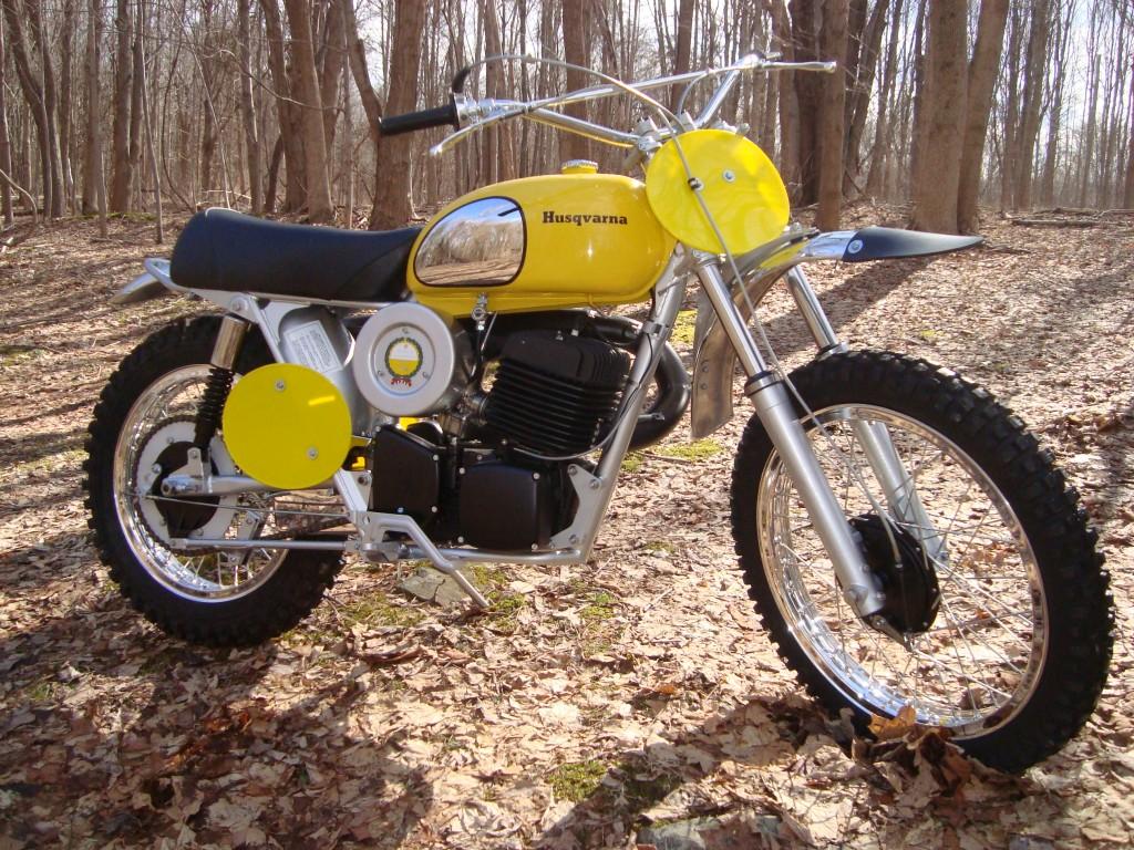 1973 Husky 450CR Desert Master