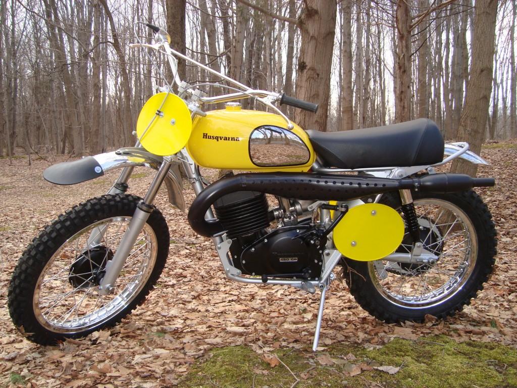 1973 Husqvarna Desert Master 450CR