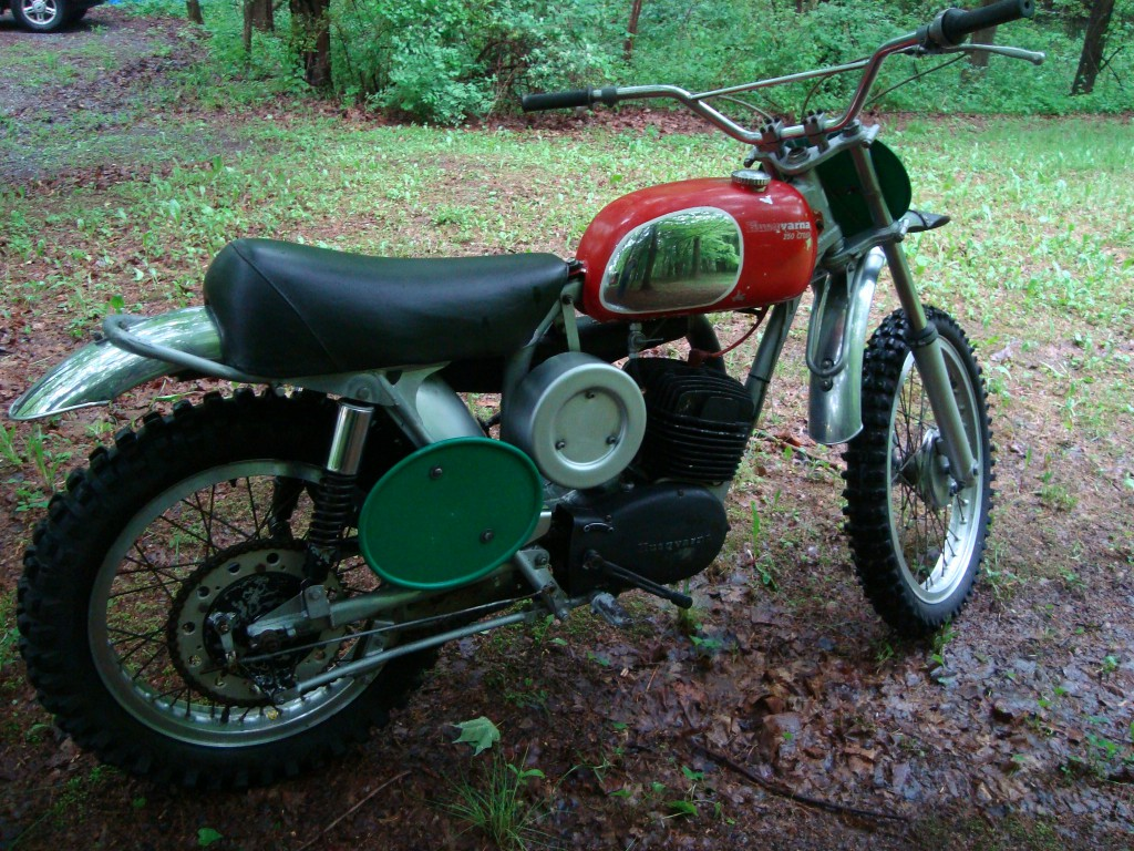 Torsten Hallman 1970 Husqvarna 250 Inter-Am race bike
