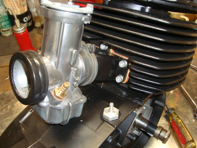 400 Engine and carb