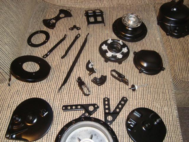 KX250 Parts Restored