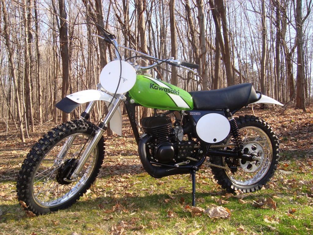 1975 Kawasaki KX250