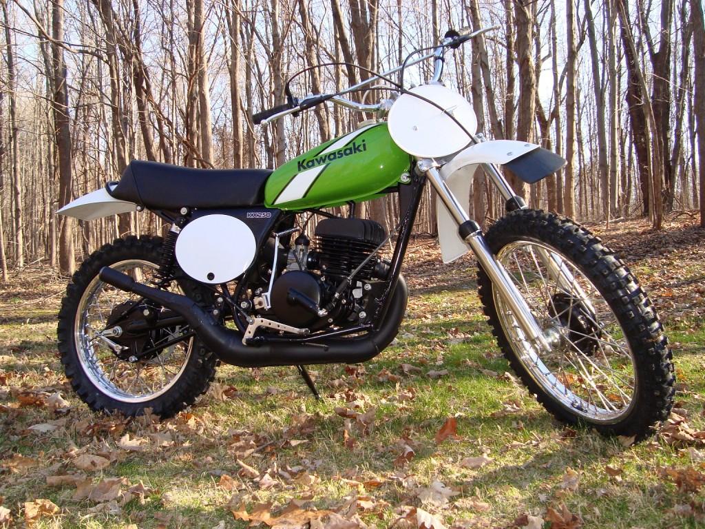 1975 KX250A Kawasaki