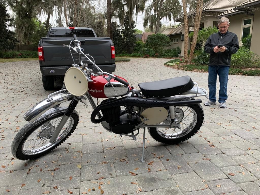 1967 Husky Malcolm Smith Race bike
