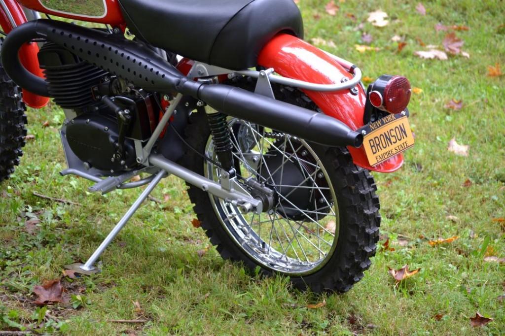 Charles Bronson Movie bike Husqvarna The Mechanic