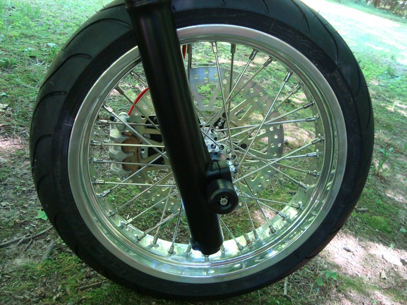 Super Moto HL500 Front Right