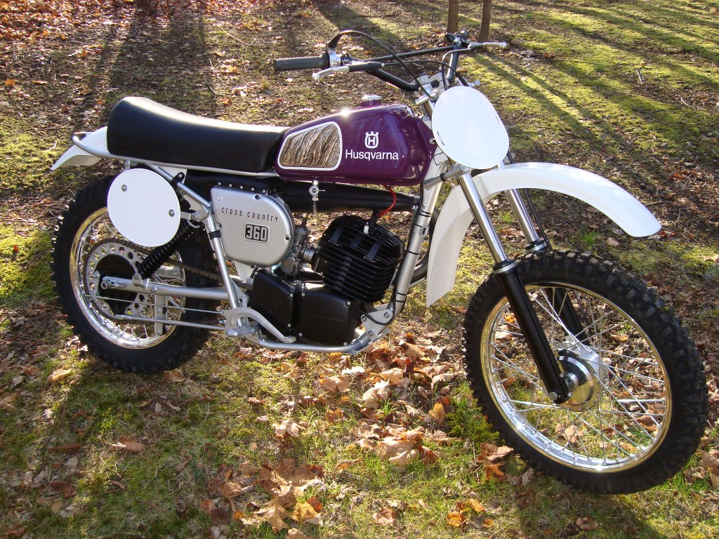 1976 Husqvanra 360WR fully restored