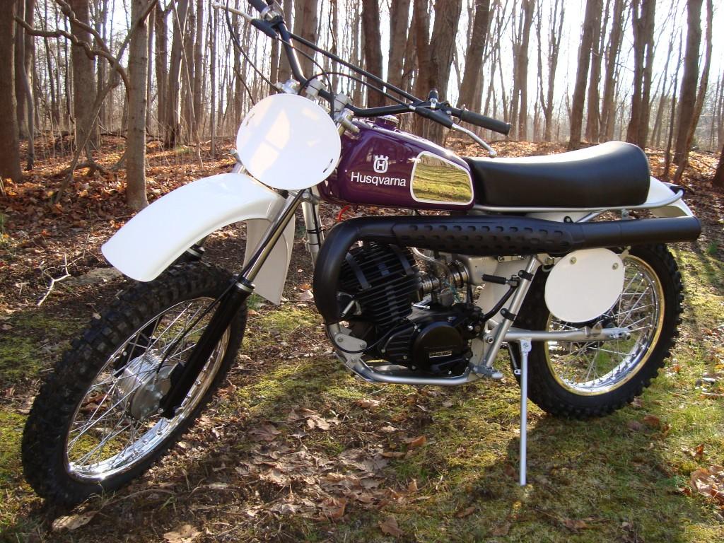 1976 Husqvanra 360WR fully restored 12/12/12