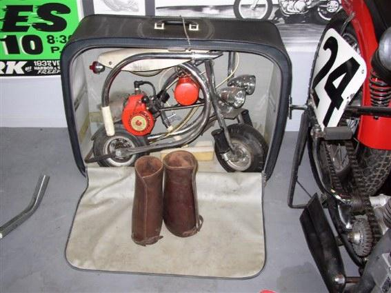 Micro Power Mini Bike Suit Case