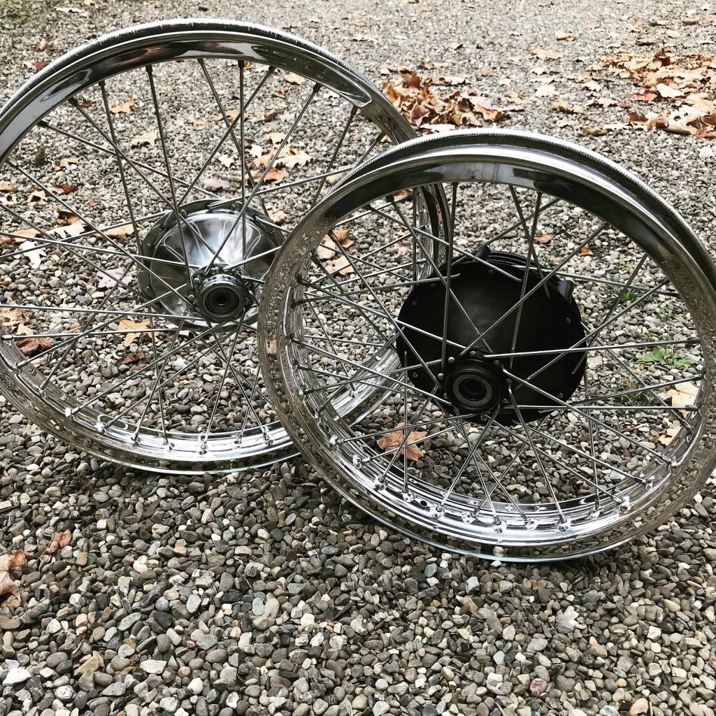 Akront wheels Husqvarna Dennis Hopper