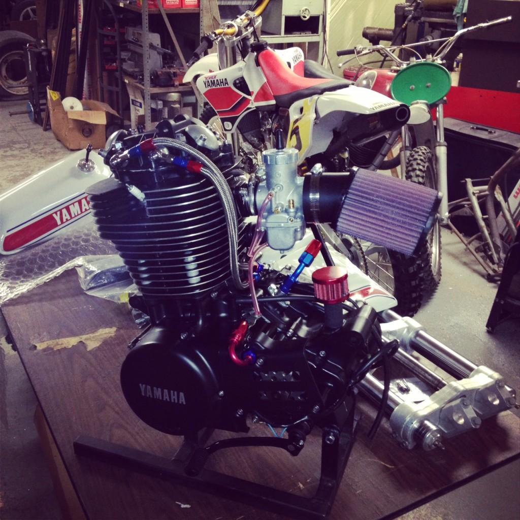 Yamaha HL500 XT500 Engine