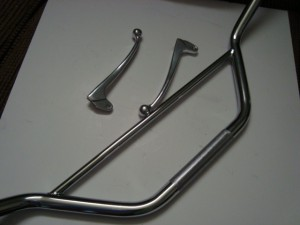 DT1MX 250 Levers