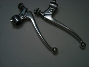 DT1MX 250 Restored levers