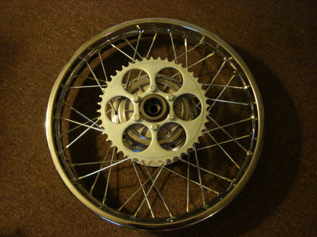 DT1MX rear wheel
