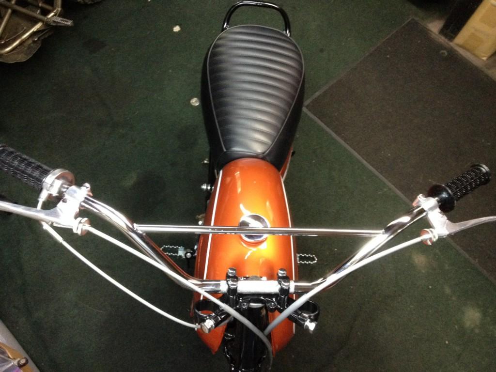 Yamaha DT1MX Handlebars