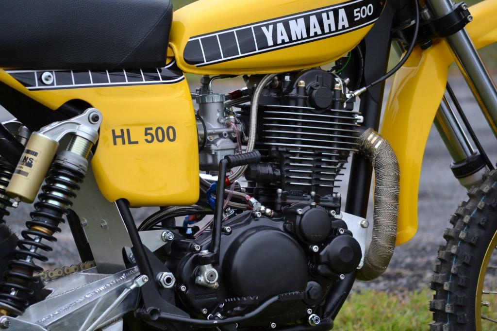 HL500 TT500 Engine