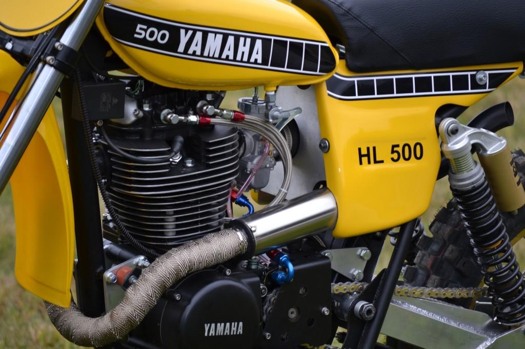 HL500 Custom Exhaust