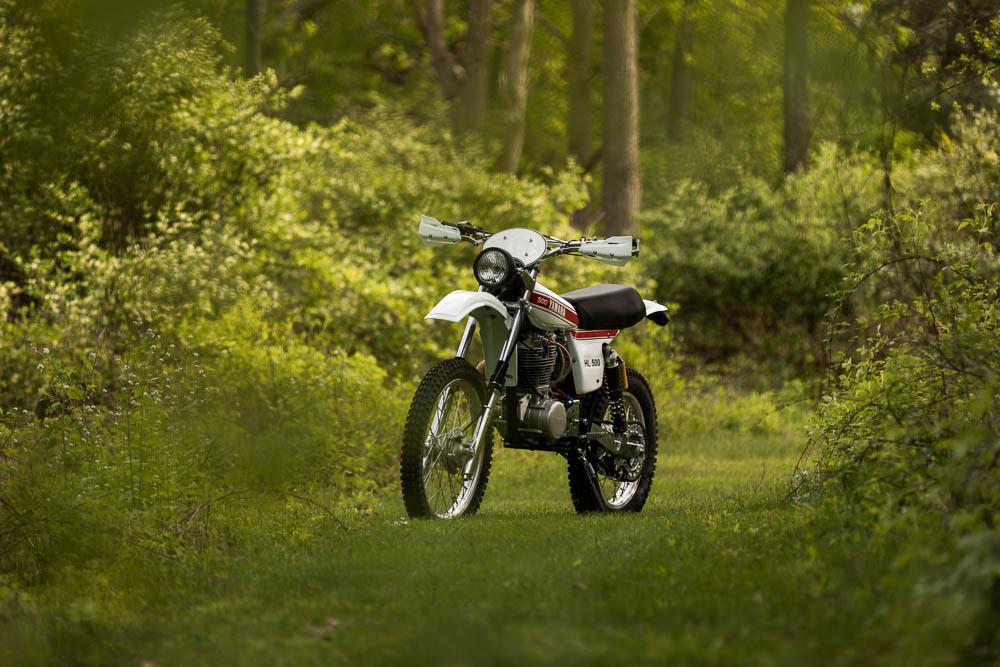 #11 Yamaha HL500 Replica Dual Sport