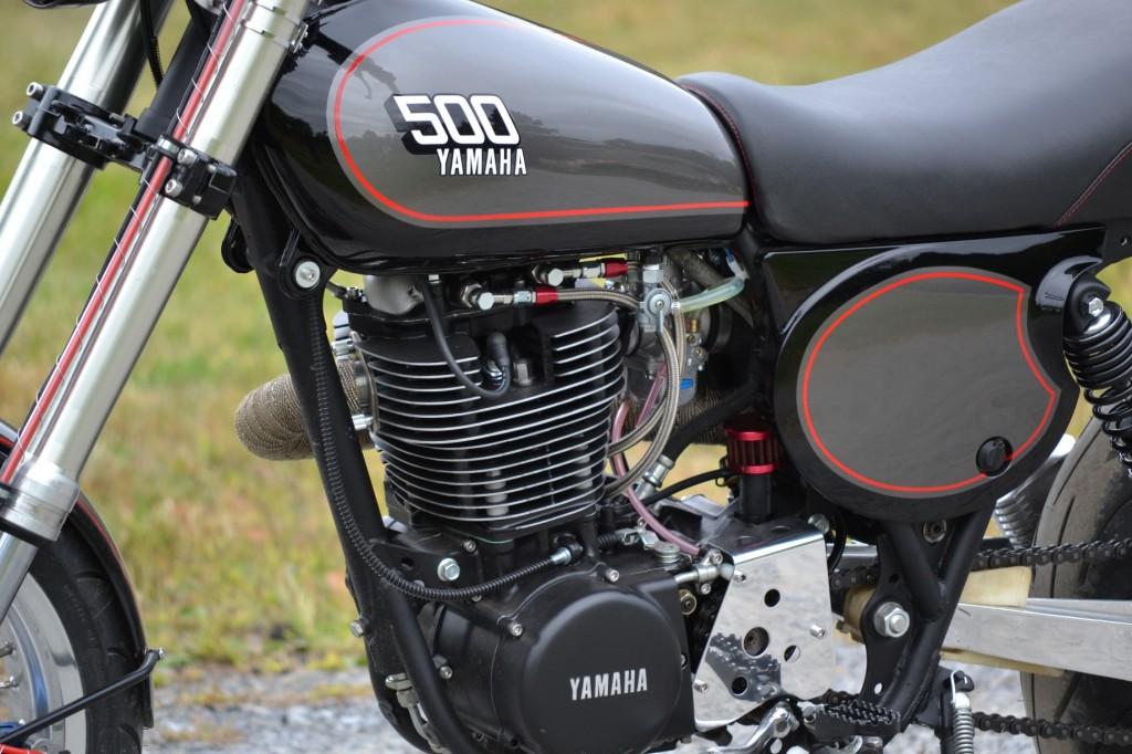 XT500 Retro SuperMoto H
