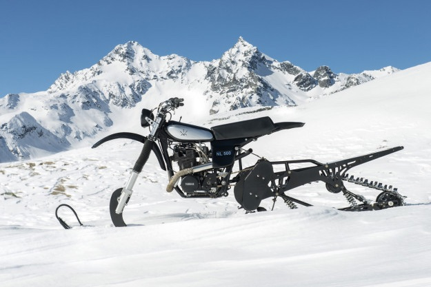 Yamaha HL500 Replica Snow bike