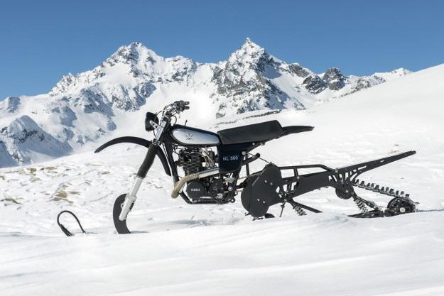 Yamaha HL500 Replica Snow bike