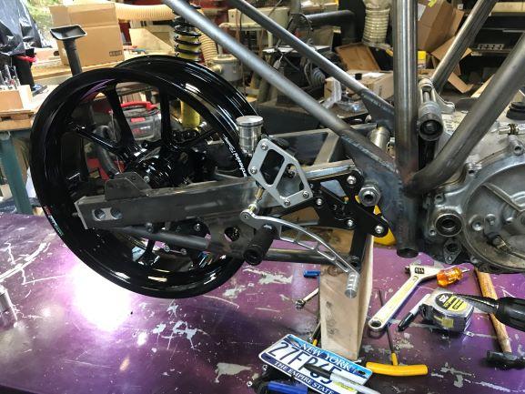 Bimota HB1 Rear Set