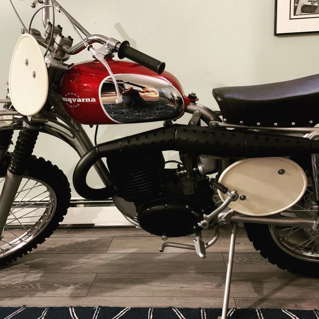 1967 Husqvarna 360 Race bike